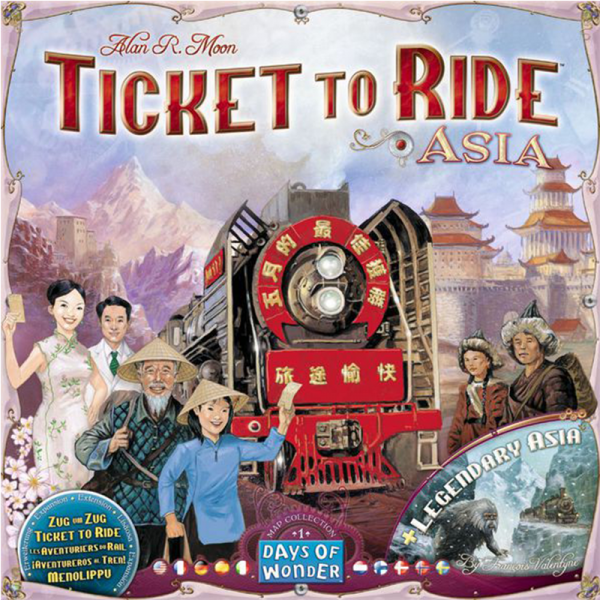 Ticket to Ride: Asia 0