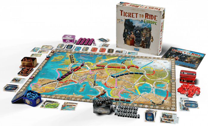 Ticket to Ride: Europe – 15th Anniversary [1]