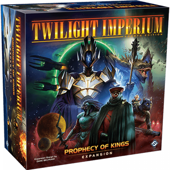 Twilight Imperium (Fourth Edition): Prophecy of Kings [0]