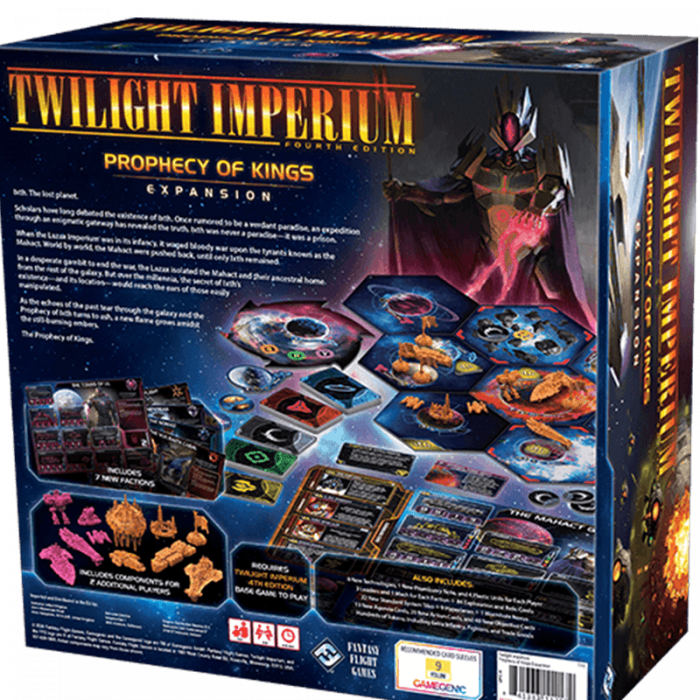 Twilight Imperium (Fourth Edition): Prophecy of Kings 1