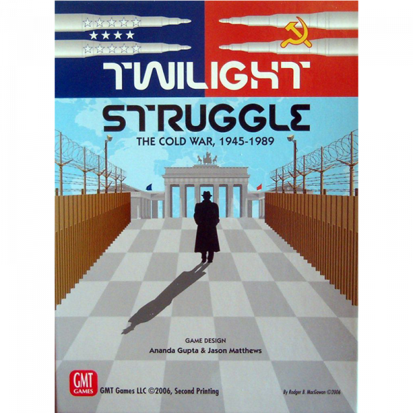 Twilight Struggle (Deluxe 7th Printing) 0
