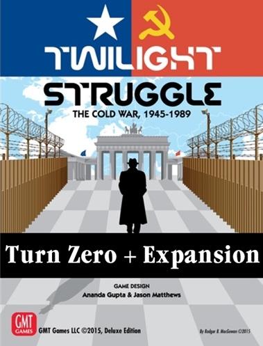 Twilight Struggle: Turn Zero and Promo Packs [0]