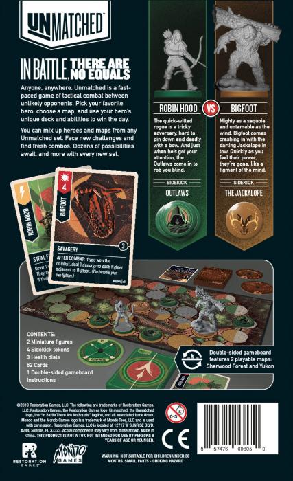 Unmatched: Robin Hood vs. Bigfoot [1]