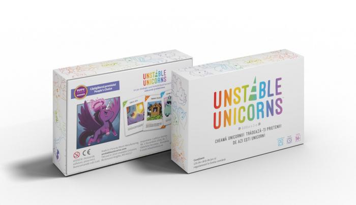 Unstable Unicorns - Editia in limba romana 4