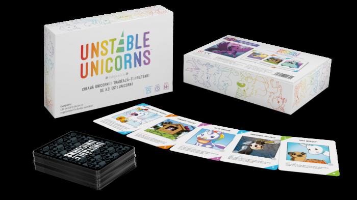 Unstable Unicorns - Editia in limba romana 1
