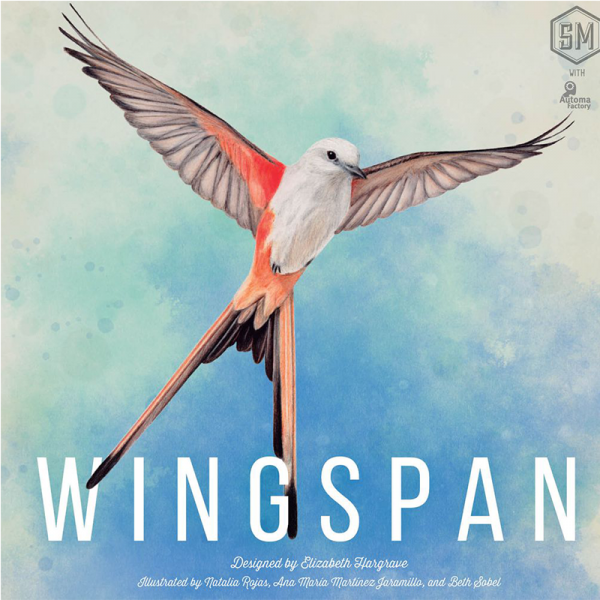 Wingspan (2nd edition with swift-start pack) 0