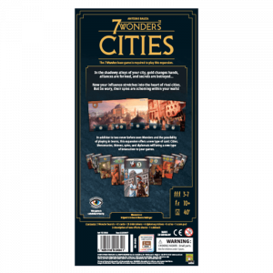 7 Wonders: Cities (Second English Edition)1