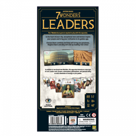 7 Wonders: Leaders (Second English Edition)1