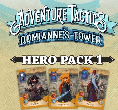 Adventure Tactics: Domianne's Tower – Hero Pack 10