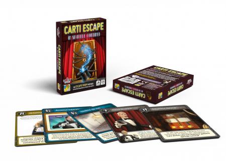 Cărți Escape - În spatele cortinei1