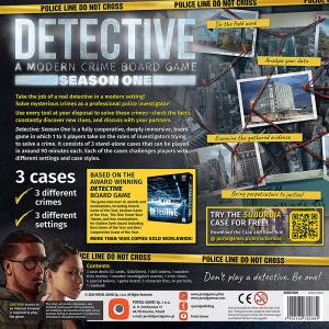 Detective: A Modern Crime Board Game – Season One [1]
