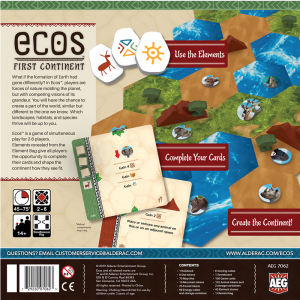 Ecos: The First Continent [1]