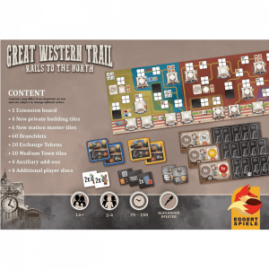 Great Western Trail: Rails to the North (germană)2