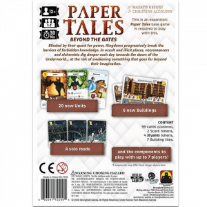 Paper Tales: Beyond the Gates1