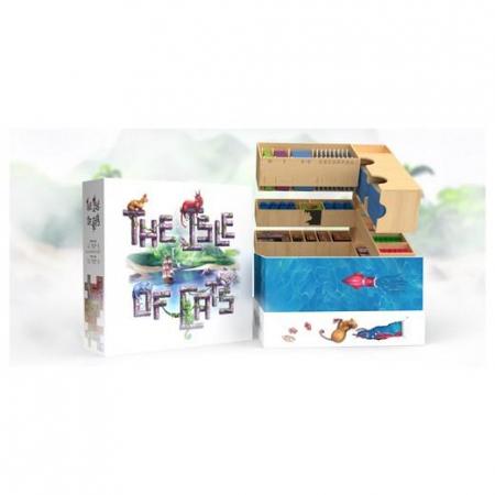 (PRECOMANDA) The Isle of Cats: Kittens + Beasts & Big Box & Wooden Insert (Kickstarter Veteran 2 Pledge) [0]