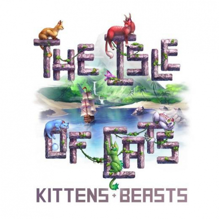 (PRECOMANDA) The Isle of Cats: Kittens + Beasts & Big Box & Wooden Insert (Kickstarter Veteran 2 Pledge) [2]