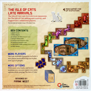 The Isle of Cats: Late Arrivals1