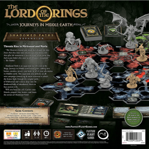The Lord of the Rings: Journeys in Middle Earth – Shadowed Paths Expansion1