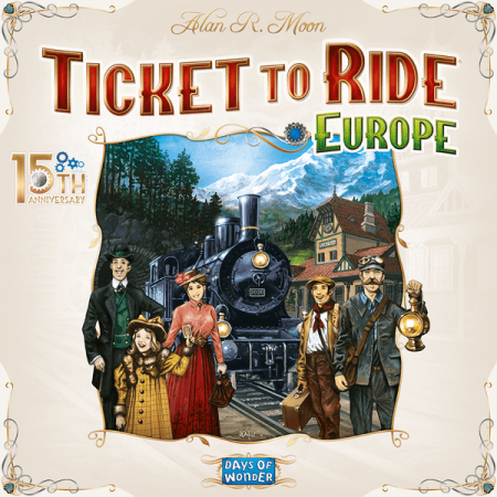 Ticket to Ride: Europe – 15th Anniversary [0]
