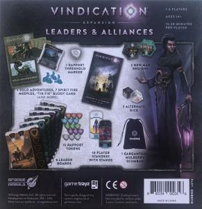 Vindication: Leaders & Alliances [1]