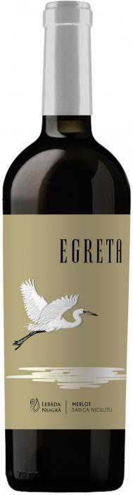 Egreta Merlot, Crama Lebada Neagra 0
