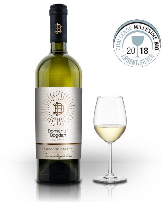 Sauvignon Blanc Organic, Domeniul Bogdan 0