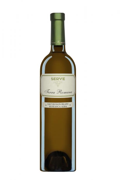 Terra Romana Sauvignon Blanc & Feteasca Alba 2017, 0.75L, Serve 0