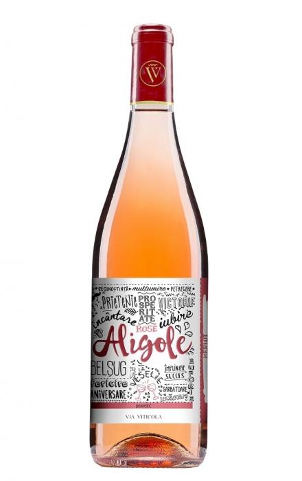Aligole Rose Demisec, Via Viticola Sarica Niculitel 0