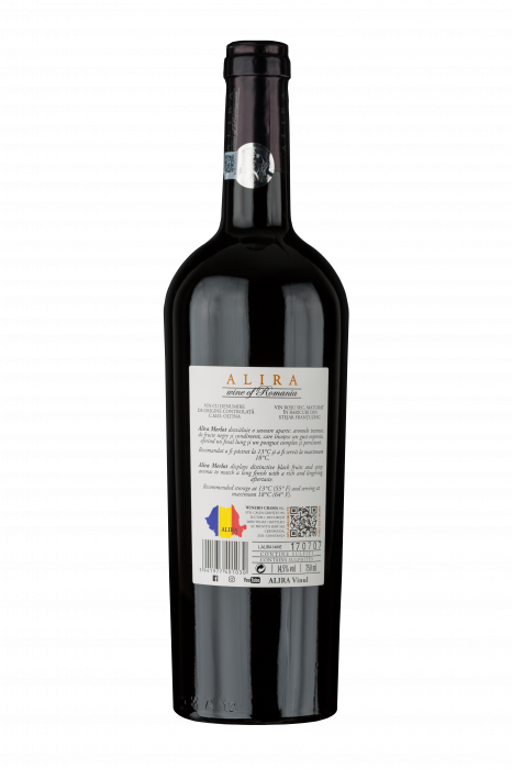 Vin Alira Merlot 2014, vin rosu sec 1