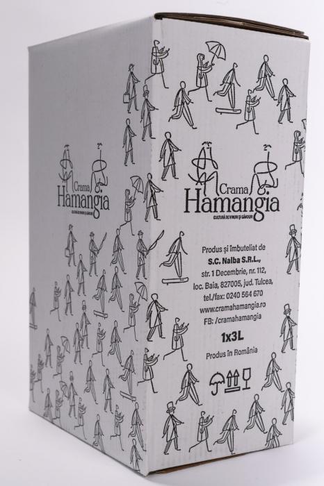 Pinot Gris BIB 3 L, Crama Hamangia 1