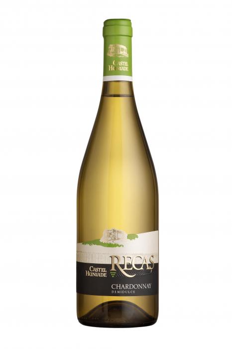 Castel Huniade Chardonnay, Cramele Recas [0]