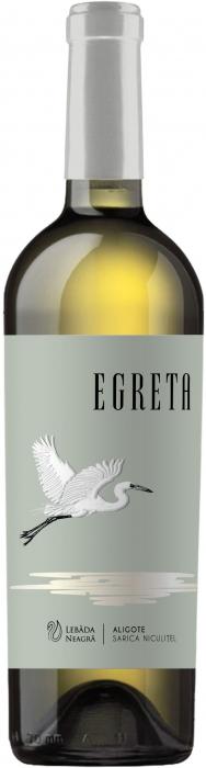 Egreta Chardonnay Sec, Crama Lebada Neagra 0