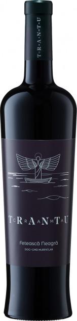 Vin rosu sec Feteasca Neagra 2017, 0.75L, Crama Trantu 0