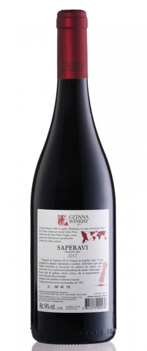 Saperavi, Gitana Winery 1