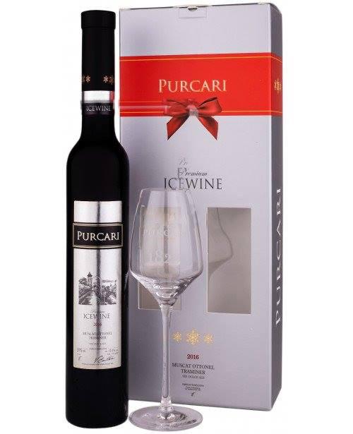 Pachet Ice Wine Purcari + Pahar cadou, Purcari Republica Moldova - Copie 0