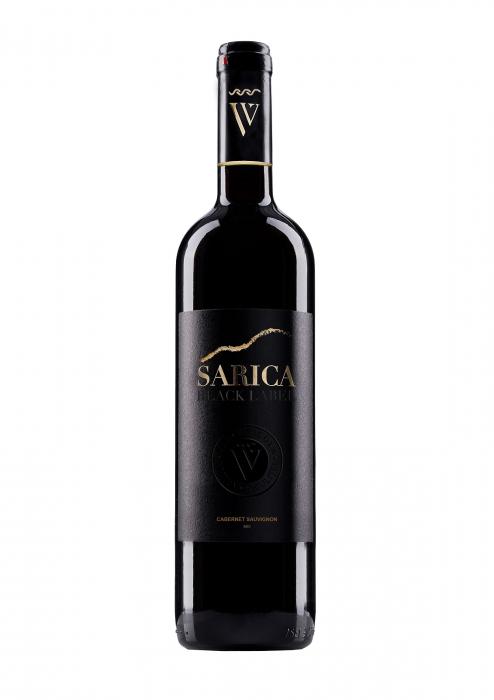 Sarica Black Cabernet Sauvignon 2018, 0.75L, Via Viticola Sarica Niculitel 0