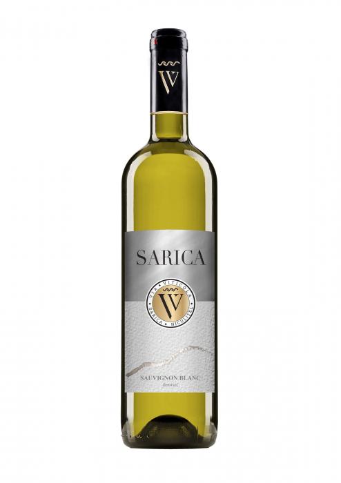 Sarica Sauvignon Blanc, Via Viticola Sarica Niculitel 0
