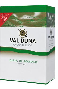 Val Duna Blanc De Roumanie, Crama Oprisor Bib 5 L [0]