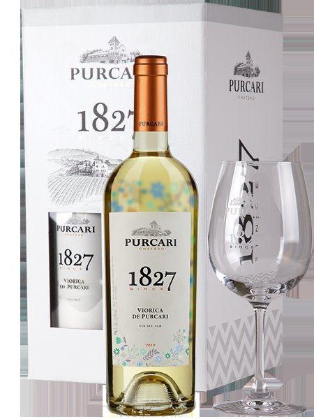 Pachet 2 sticle Viorica de Purcari + 2 Pahare cadou, Purcari Republica Moldova [0]