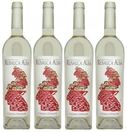 Rusalca Promo Bax 4 Sticle, Crama Oprisor0