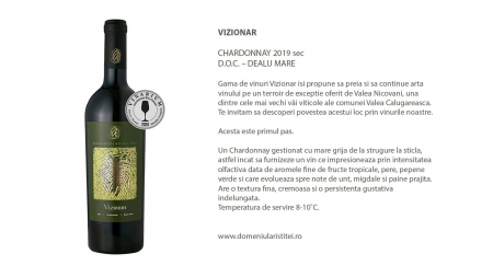 Vizionar Chardonnay, Domeniul Aristitei [1]
