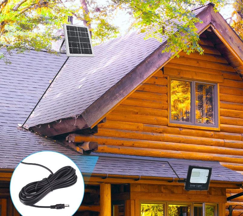 Panoul solar nu trebuie sa stea lipit de proiector