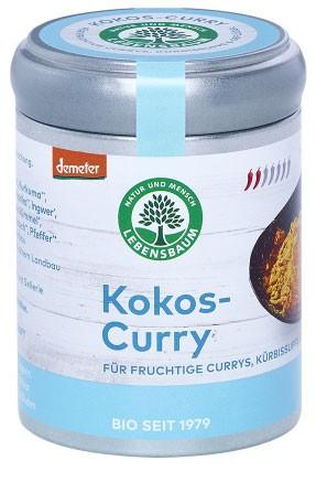 Amestec de condimente bio cocos-curry, 65 G LEBENSBAUM 0
