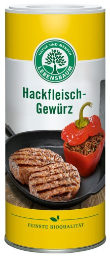 Amestec de condimente bio pentru carne tocata, 120G LEBENSBAUM 0