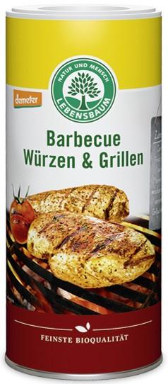 Amestec de condimente BIO pentru gratar si grill, 125g LEBENSBAUM 0