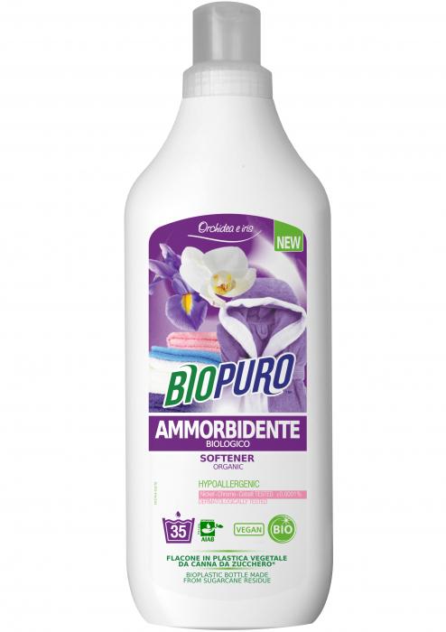 Balsam hipoalergen pentru rufe bio 1 litru, - iris si orhidee 0