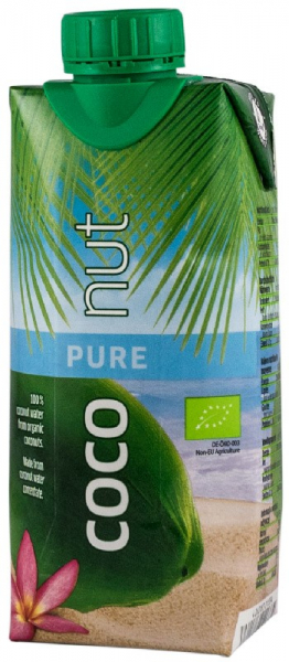 Apa BIO de cocos, 330ml Aqua Verde 0