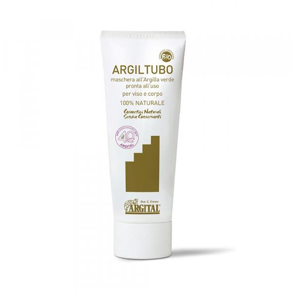 ARGILTUBO - masca Bio pentru fata si corp cu argila verde, 50 ml Argital 0