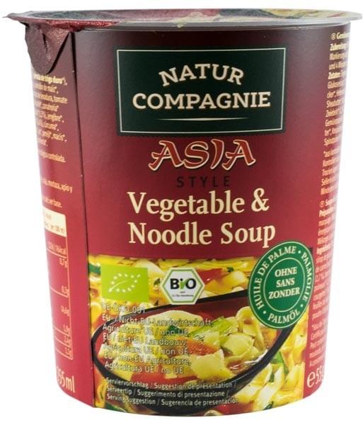 Asia Style - Supa bio de legume si taitei, 55g NATUR COMPAGNIE 0