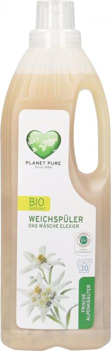 Balsam bio pentru rufe -flori de munte- 1L Planet Pure 1